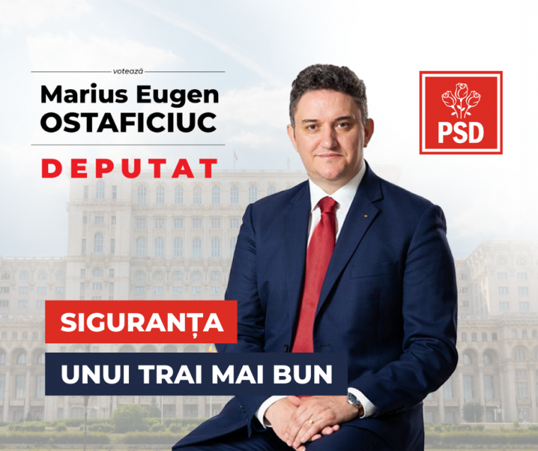 Marius Ostaficiuc, pentru un Parlament al ieșenilor -Ziarul de Iași